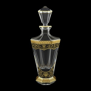 Stella WD SEGB Whisky Decanter 850ml 1pc in Flora´s Empire Golden Black Decor (26-805)