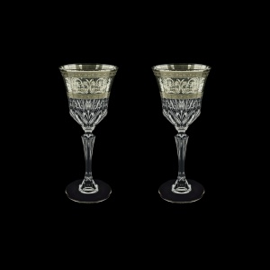 Adagio C3 AASK Wine Glasses 220ml 2pcs in Allegro Platinum Light Decor (65-1/643/2/L)