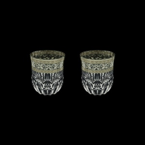 Adagio B2 AASK Whisky Glasses 350ml 2pcs in Allegro Platinum Light Decor (65-1/646/2/L)