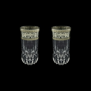 Adagio B0 AASK Water Glasses 400ml 2pcs in Allegro Platinum Light Decor (65-1/647/2/L)
