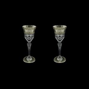 Adagio C5 AASK D Liqueur Glasses 80ml 2pcs in Allegro Platinum Light Decor+D (66-1/641/2L)