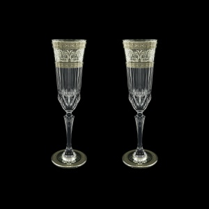 Adagio CFL AASK D Champagne Flutes 180ml 2pcs in Allegro Pl. Light Decor+D (66-1/645/2/L)