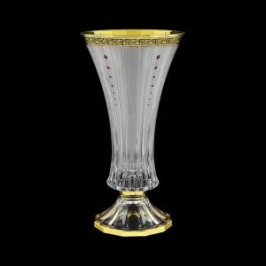 Timeless VVA TMGB SKLI Vase 30cm 1pc in Lilit Golden Black Decor+SKLI (31-106/bKLI)