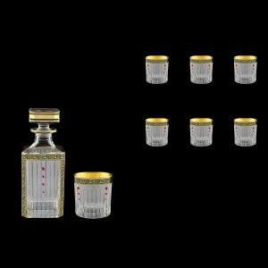 Timeless Set WD+B2 TMGB SKLI 750ml+6x360ml in Lilit G. Black+SKLI (31-105/132/bKLI)