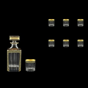 Timeless Set WD+B3 TMGB Whisky Set 750ml+6x313ml in Lilit Golden Black (31-280/279)