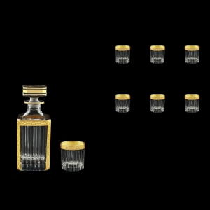 Timeless Set WD+B3 TNGC Whisky Set 750ml+6x313ml in Romance Golden Classic (33-280/279)