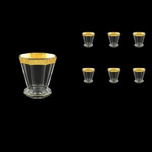 Stella B2 SNGC Whisky Glasses 310ml 6pcs in Romance Golden Classic Decor (33-803)
