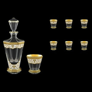 Stella Set WD+B2 SEGW 850+6x310ml 1+6pcs in Flora´s Empire Golden White Decor (21-805/806)