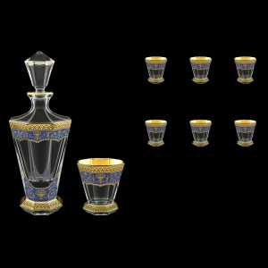 Stella Set WD+B2 SEGC 850+6x310ml 1+6pcs in Flora´s Empire Golden Blue Decor (23-805/806)