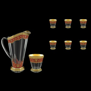 Stella Set J+B2 SEGR 1300+6x310ml 1+6pcs in Flora´s Empire Golden Red Decor (22-804/806)