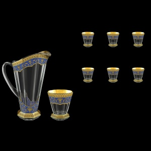 Stella Set J+B2 SEGC 1300+6x310ml 1+6pcs in Flora´s Empire Golden Blue Decor (23-804/806)
