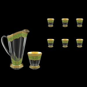 Stella Set J+B2 SEGG 1300+6x310ml 1+6pcs in Flora´s Empire Golden Green Decor (24-804/806)