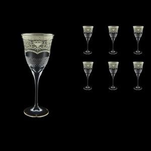 Fiesole C2 FESK Wine Glasses 282ml 6pcs in Flora´s Empire P. Crystal L. (20-1/822/L)