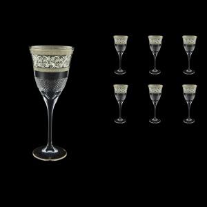 Fiesole C2 FASK Wine Glasses 282ml 6pcs in Allegro Platinum Light Decor (65-1/831/L)