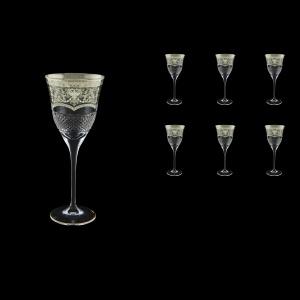 Fiesole C3 FESK Wine Glasses 190ml 6pcs in Flora´s Empire P. Crystal L. (20-1/821/L)