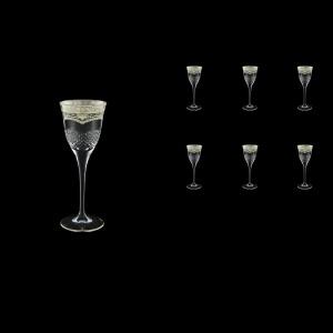 Fiesole C5 FESK Liqueur Glasses 70ml 6pcs in Flora´s Empire P. Crystal L. (20-1/820/L)