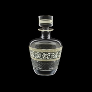 Fiesole WD FASK Whisky Decanter 850ml 1pc in Allegro Platinum Light Decor (65-1/836/L)