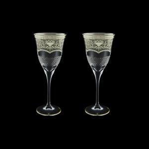 Fiesole C2 FESK Wine Glasses 282ml 2pcs in Flora´s Empire P. Crystal L. (20-1/822/2/L)