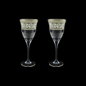Fiesole C2 FASK Wine Glasses 282ml 2pcs in Allegro Platinum Light Decor (65-1/831/2/L)