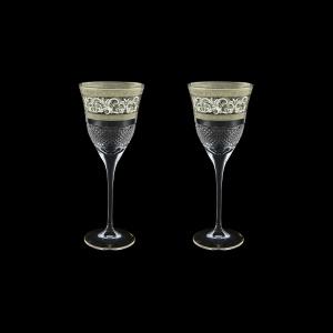 Fiesole C3 FASK Wine Glasses 190ml 2pcs in Allegro Platinum Light Decor (65-1/830/2/L)