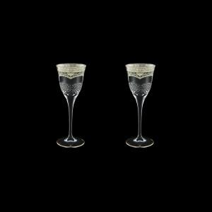 Fiesole C5 FESK Liqueur Glasses 70ml 2pcs in Flora´s Empire P. Crystal L. (20-1/820/2/L)