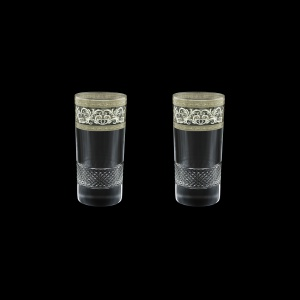 Fiesole B0 FASK Water Glasses 360ml 2pcs in Allegro Platinum Light Decor (65-1/834/2/L)