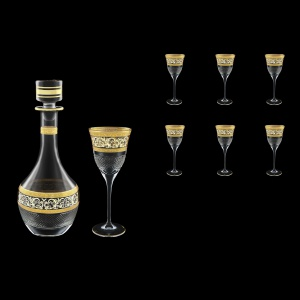 Fiesole Set RD+C3 FALK 900ml+6x190ml in Allegro Golden Light Decor (65-837/830/L)