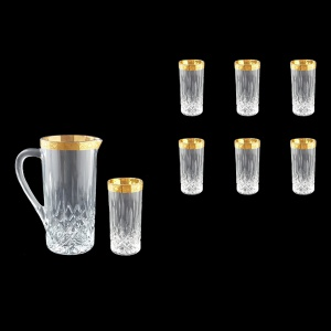 Opera Set J+B0 ONGC 1200ml+6x350ml 1+6pcs in Romance Golden Classic Decor (33-239/237)