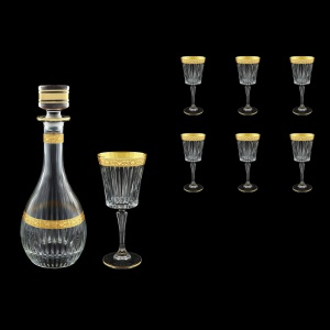 Timeless Set RD+C2 TNGC 900ml+6x298ml 1+6pcs in Romance Golden Classic Decor (33-285/289)