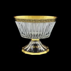 Timeless MVA TMGB SKCR Bowl d24,5cm 1pc in Lilit Golden Black Decor+SKCR (31-104/bKCR)