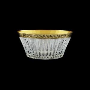 Timeless MV TMGB SKCR Bowl d24,5cm 1pc in Lilit Golden Black Decor+SKCR (31-109/bKCR)