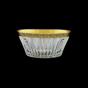 Timeless MV TMGB SKTO Bowl d24,5cm 1pc in Lilit Golden Black Decor+SKTO (31-109/bKTO)
