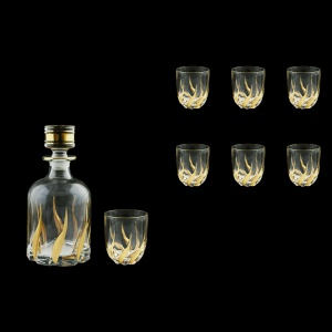 Trix Set WD+B3 TTG Whisky Set 1+6 pcs 800ml+6x290ml  in Gold (1268/1264)