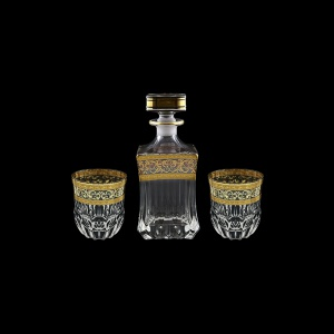 Adagio Set WD+B2 AALK 820ml+2x350ml 1+2pcs in Allegro Golden Light Decor (65-649/646/2/L)