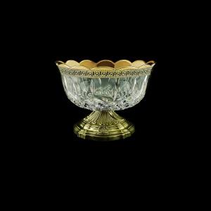 Opera MSZ OAGB b Small Bowl d18cm 1pc in Antique Golden Black Decor (57-475/O.17/b)