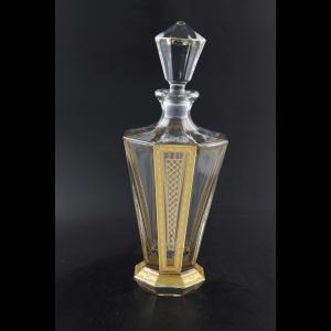 Stella WD SALK Whisky Decanter 850ml 1pc in Allegro Golden Light Decor (65-875/L)