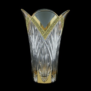 Lotus VV LMGB Vase 25cm 1pc in Lilit Golden Black Decor (31-215)