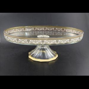 Lido CPA FELW Plate w/F 40x28cm 1pc in Flora´s Empire Golden White Light (21-884/L)