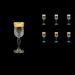 Opera C5 ONGC Liqueur Glasses 60ml 6pcs in Romance Golden Classic Decor (33-233)