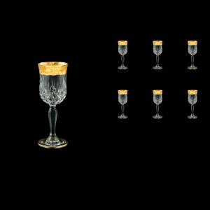 Opera C5 ONGC Liqueur Glasses 60ml 6pcs in Romance Golden Classic Decor (33-233)
