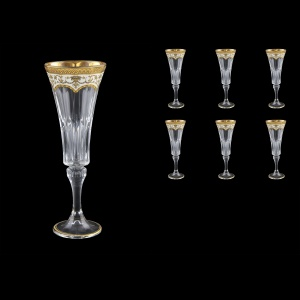Wellington CFL WELW Champagne Flutes 180ml 6pcs in Flora´s Empire G. White (21-759)