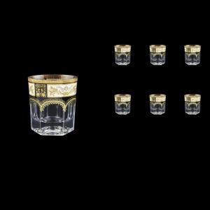 Provenza B3 F0016 Whisky Glasses 185ml 6pcs in Diadem Golden Black (F0016-0003)