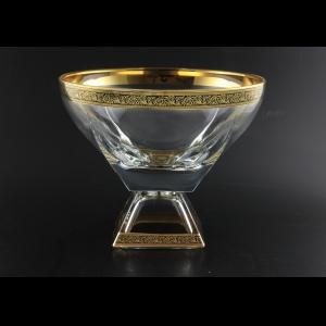 Fusion MVD MGB CH Large Bowl w/F 19,5x24,5cm 1pc in Lilit Golden Black Decor (31-945)