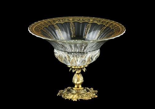 Adagio MVZ AELK H Bowl, 35x25cm, 1pc in Fl. Empire G. Crystal Light+H (20-536/H/L/JJ02)