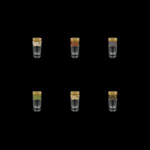 Provenza B5 PEG6 Liqueur Tumblers 50ml 6pcs in Fl. Empire G. 6clrs (21/22/23/24/25/26-520)