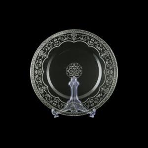 Rialto CP RESK Cake Plate d35cm 1pc in Flora´s Empire Platinum Crystal Light (20-1/842/L)