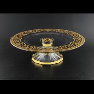 Rialto CPA RELK Cake Plate d35cm 1pc in Flora´s Empire Golden Crystal Light (20-727/L)