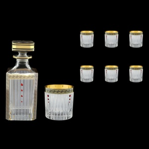 Timeless Set WD+B2 TAGB SKLI 750ml+6x360ml in Antique Golden Black+SKLI (57-105/132/bKLI)