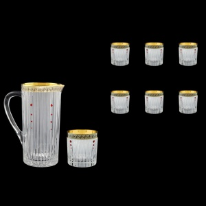 Timeless Set J+B2 TAGB SKLI 1200ml+6x360ml in Antique Golden Black+SKLI (57-114/132/bKLI)