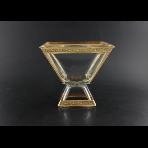 Ducale MVD DMGB Large Bowl w/F 20x20cm 1pc in Lilit Golden Black Decor (31-933)